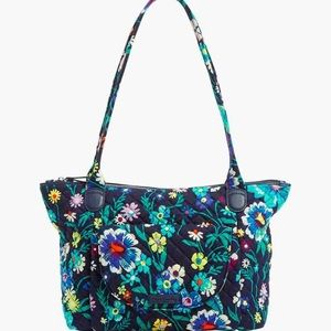 NWT Carson East West Tote in Moonlight Garden